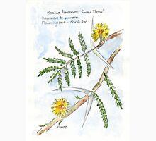 Acacia karroo - Botanical Womens Fitted T-Shirt