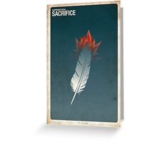 Supernatural 8x23 - Sacrifice Greeting Card