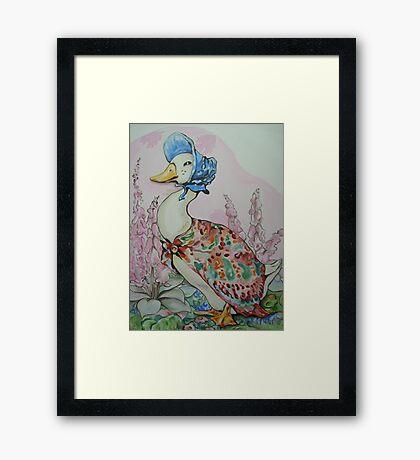 Jemima Puddleduck commission Framed Print