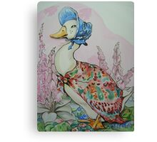 Jemima Puddleduck commission Canvas Print
