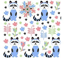 Animals pattern Photographic Print