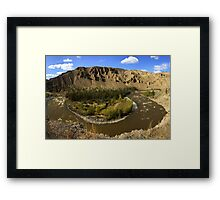 Farwell Canyon Framed Print