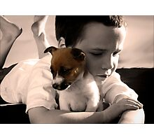 Buddy and Belle Photographic Print