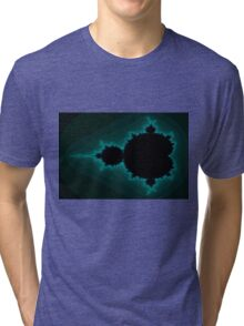 Mandelbrot Beetle 01 Tri-blend T-Shirt
