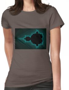 Mandelbrot Beetle 01 Womens Fitted T-Shirt