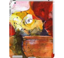 Rose vase iPad Case/Skin