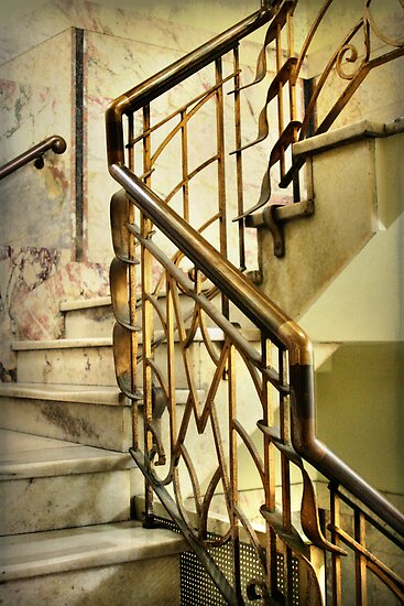 Manchester Unity Staircase by Angie Muccillo