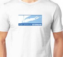 Port Jefferson - Long Island. Unisex T-Shirt