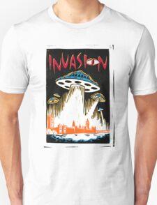 INVASION - London skyline T-Shirt