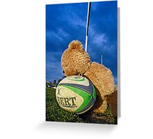 Bear Balls Greeting Card