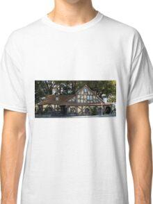 Hobbition Style Building Matamata New Zealand Classic T-Shirt