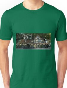 Hobbition Style Building Matamata New Zealand Unisex T-Shirt
