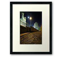 Lamplight & Moonlight - Durham Cathedral Framed Print
