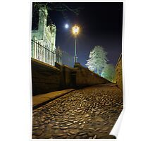 Lamplight & Moonlight - Durham Cathedral Poster