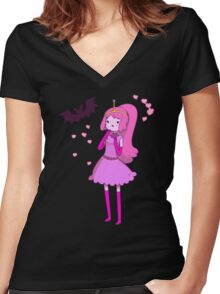 Sugarless Women's Fitted V-Neck T-Shirt
