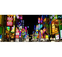 Tokyo Nights Photographic Print