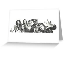 Brooklyn Nine-Nine Cast Greeting Card