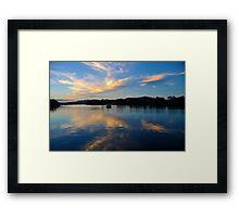 Sky Mirror Framed Print