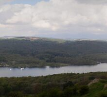 South Windermere Panorama by Simon Hathaway