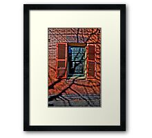 Shadows & Time - The Rocks, Sydney - The HDR Experience Framed Print