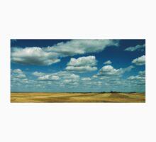 Blue-Skied Prairie One Piece - Short Sleeve
