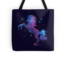 Space Horse, Universe, Kosmos, Galaxy, Star Tote Bag