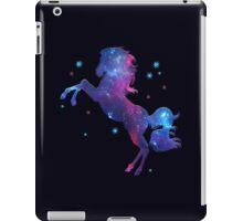 Space Horse, Universe, Kosmos, Galaxy, Star iPad Case/Skin