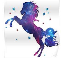 Space Horse, Universe, Kosmos, Galaxy, Star Poster
