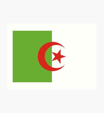 Algeria, national id Art Print