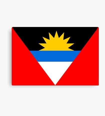 Antigua & Barbuda, national id Canvas Print