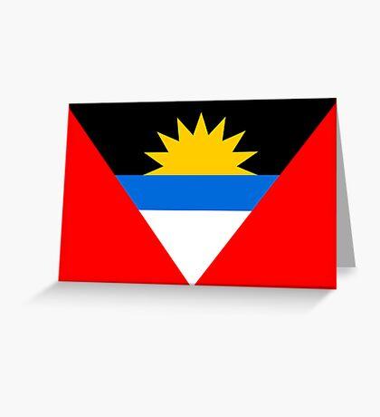 Antigua & Barbuda, national id Greeting Card