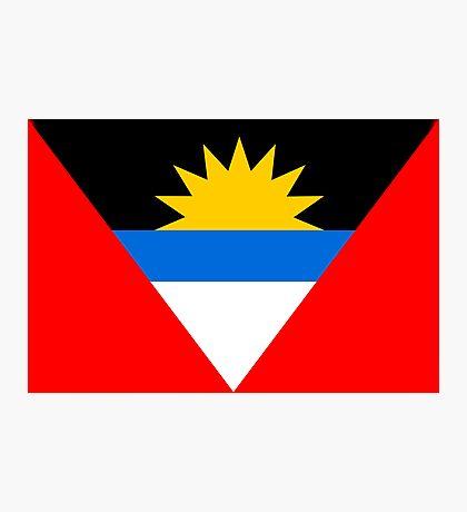 Antigua & Barbuda, national id Photographic Print