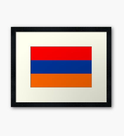 Armenia, national id Framed Print