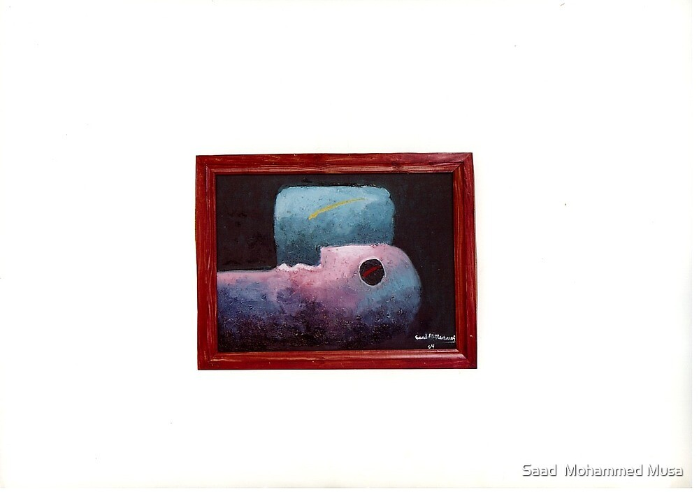 Head and Window by Saad  Mohammed Musa