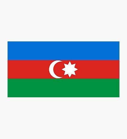 Azerbaijan, national id Photographic Print