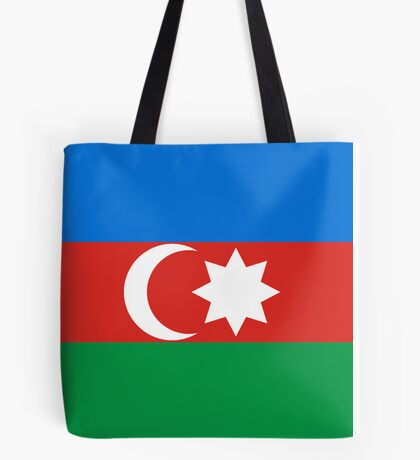 Azerbaijan, national id Tote Bag