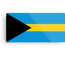 Bahamas, national id Metal Print