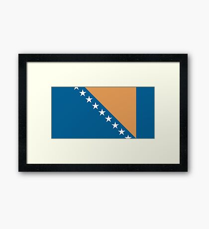 Bosnia & Herzegovina, national id Framed Print