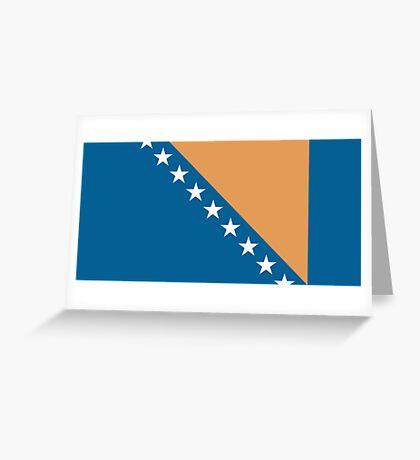 Bosnia & Herzegovina, national id Greeting Card