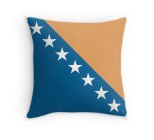 Bosnia & Herzegovina, national id Throw Pillow
