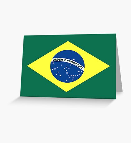 Brazil, national id Greeting Card