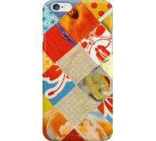 Collagecard: Red yellow blue  iPhone Case/Skin