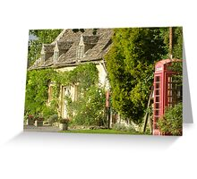 Sleepy Hollow Cottage Greeting Card
