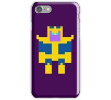 8-Bit Thanos iPhone Case/Skin