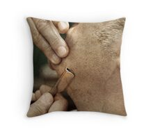 Shave Throw Pillow