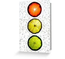 Citrus Light Greeting Card