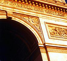Arc de Triomphe by Wayne Gerard Trotman