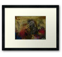 RISE OF HOMO SAPIENS Framed Print