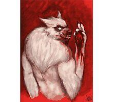 Werwolf Havara / Tasting Prey Photographic Print