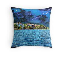 Crashing Thunder Throw Pillow